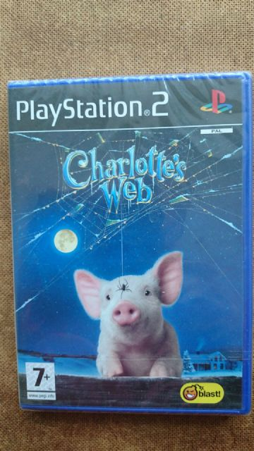 Charlotte's Web (Sony PlayStation 2, 2007) - NEW and SEALED
